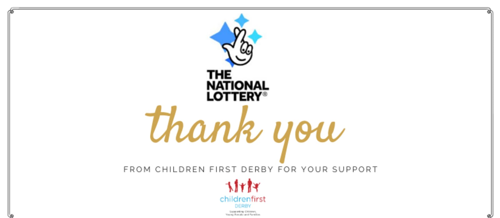 Children First Derby receives £129,000 from the National Lottery to fund their Family Support Service
